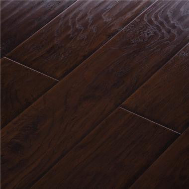 Midnight Hickory - MEGAClic Xanadu Registered Collection - 12.3mm Laminate Flooring by AJ Trading - The Flooring Factory