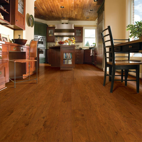PREMIUM COLLECTION Ornamental Cherry - 12mm Laminate Flooring by Armstrong - The Flooring Factory