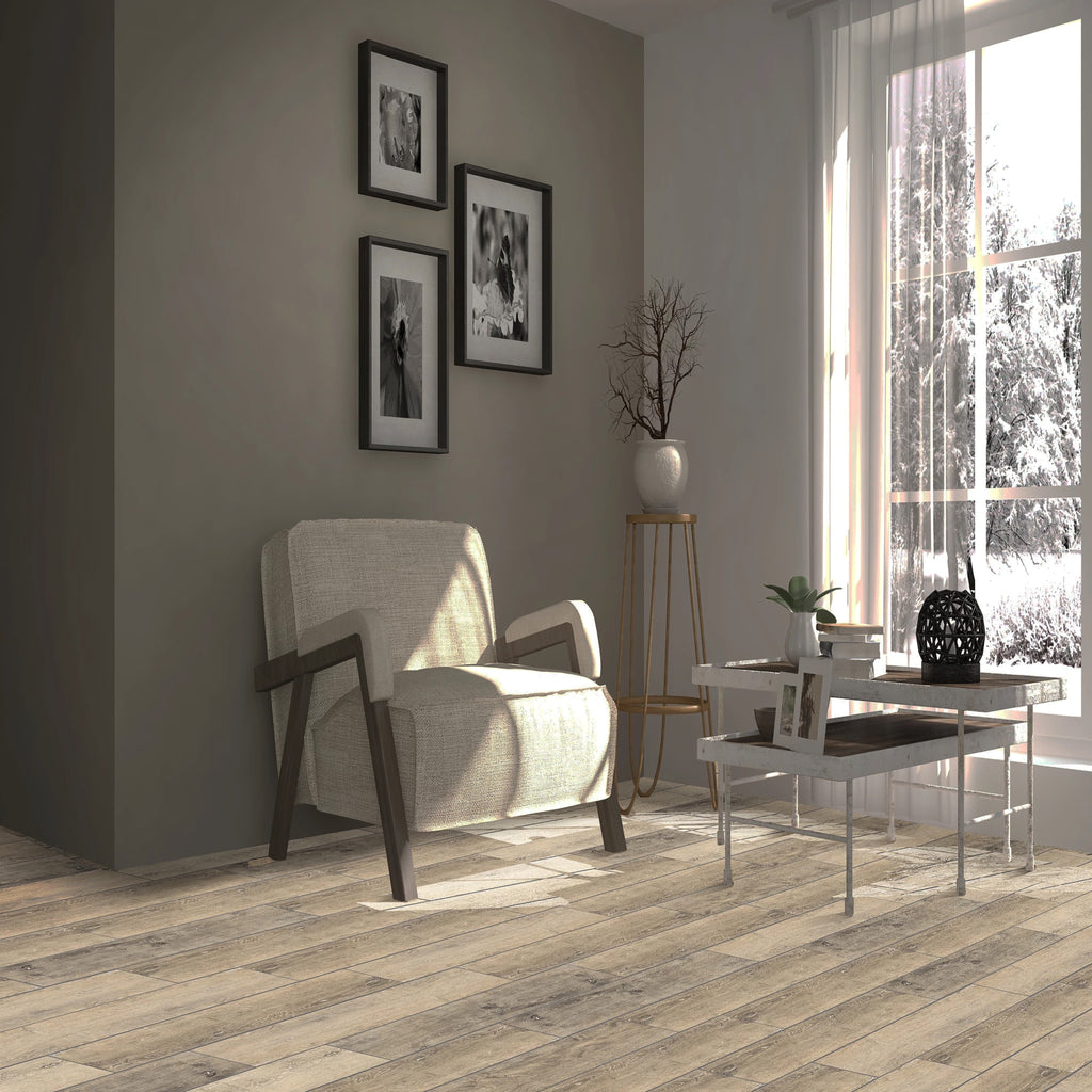 Pacific Cream - Wood Stone Collection - Waterproof Flooring by Republic - Waterproof Flooring by Republic Flooring