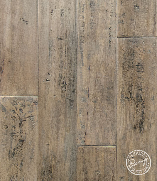 "Clay-Matte- 5 1/2"" x 9/16"" Engineered Hardwood Flooring by Provenza - Hardwood by Provenza - The Flooring Factory"