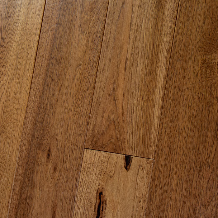"Hickory Saddle - Character Amish Soft-Scraped Collection - 4"" Engineered Hardwood Flooring by HomerWood - Hardwood by HomerWood"