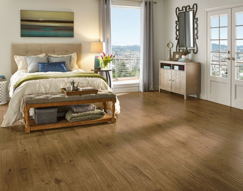 Scraped Natural - 12mm Laminate Flooring by Armstrong - The Flooring Factory