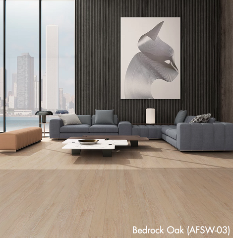 Bedrock Oak - Waterproof Rigid Wood with StoneCoreX Collection - 7mm Waterproof Flooring by Alston - Waterproof Flooring by Alston