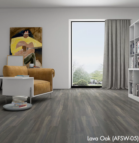 Lava Oak - Waterproof Rigid Wood with StoneCoreX Collection - 7mm Waterproof Flooring by Alston - Waterproof Flooring by Alston
