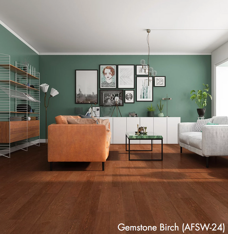 Gemstone Birch - Waterproof Rigid Wood with StoneCoreX Collection - 7mm Waterproof Flooring by Alston - Waterproof Flooring by Alston