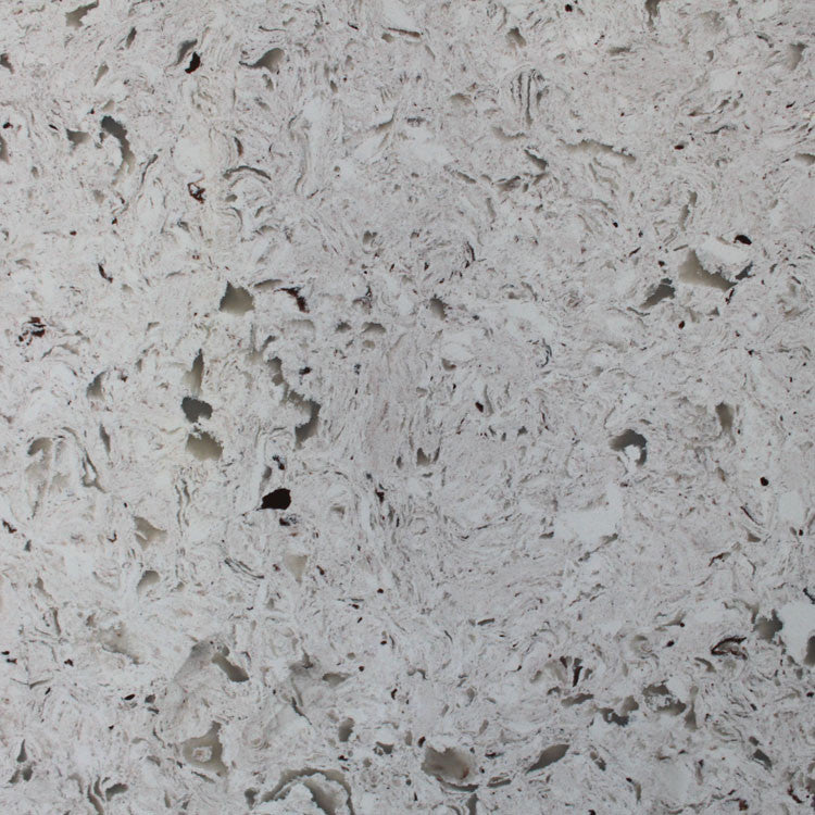 Storm White Prefabricated Quartz Countertop by BCS Vienna - Countertops by BCS Vienna
