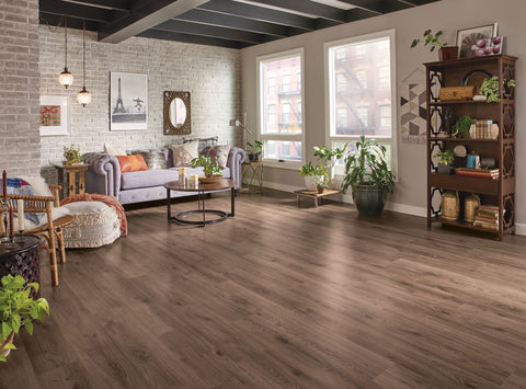 Timber Brown Oak - 7mm Laminate Flooring by Armstrong, Laminate, Armstrong - The Flooring Factory