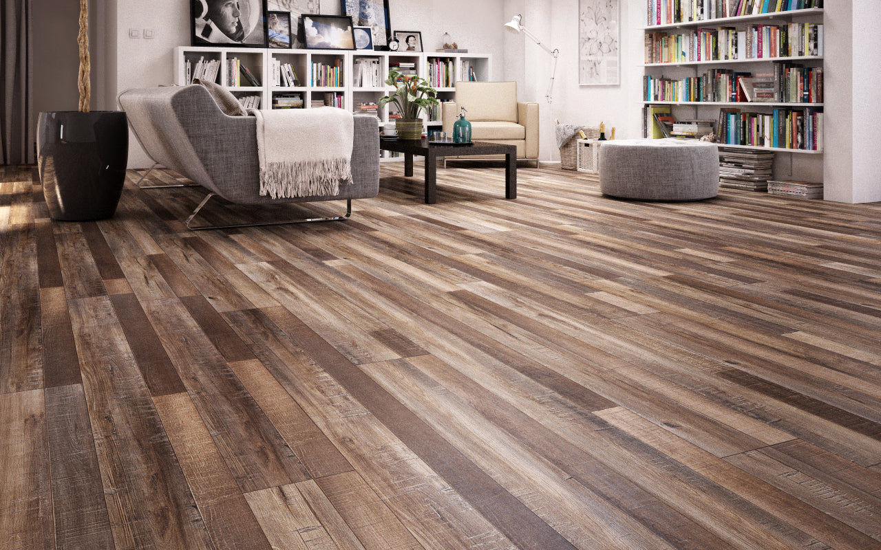Vintage Chestnut 12mm Laminate Flooring By Dynasty The Factory