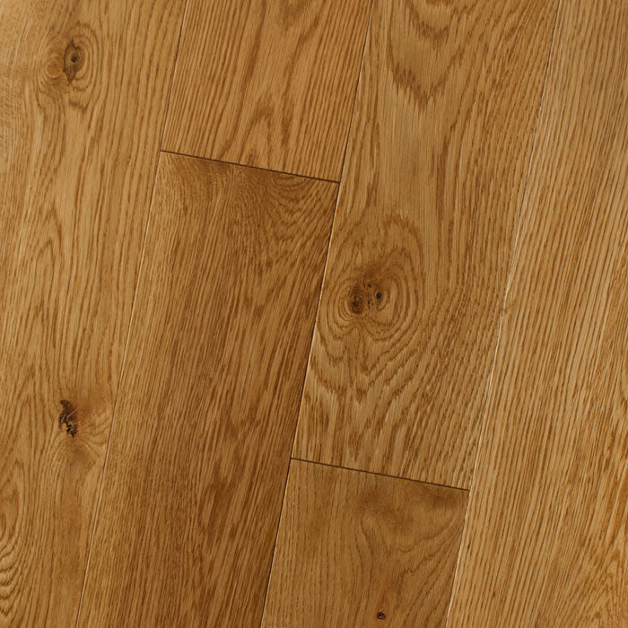 "White Oak Butter Rum - Traditional Character White Oak Collection - 6"" Solid Hardwood Flooring by HomerWood - Hardwood by HomerWood"