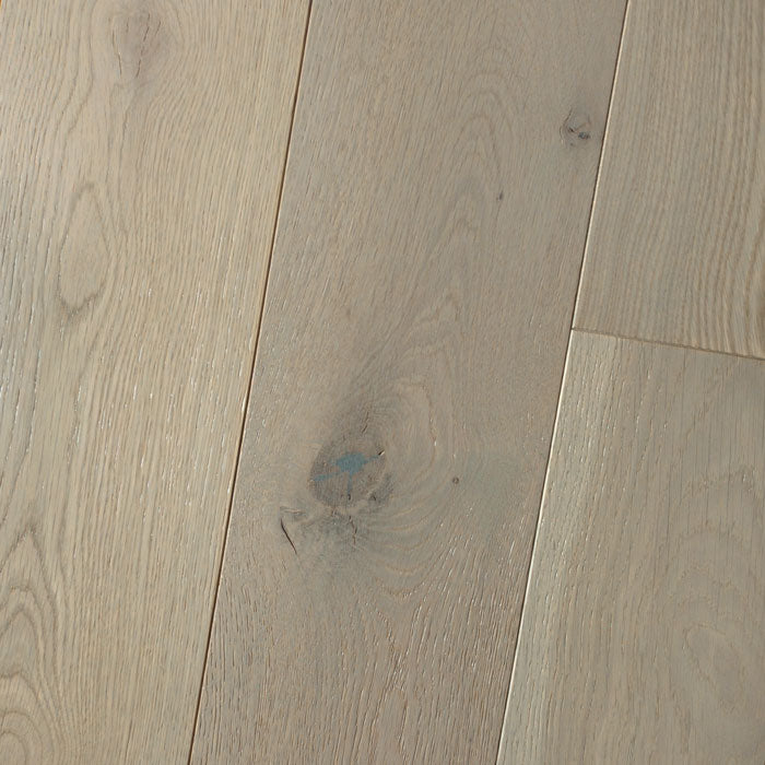 "White Oak Chinchilla - White Oak Wire-Brushed Collection - 6"" Solid Hardwood Flooring by HomerWood - Hardwood by HomerWood"