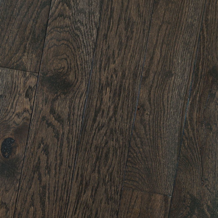 "White Oak Espresso - Traditional Character White Oak Collection - 6"" Solid Hardwood Flooring by HomerWood - Hardwood by HomerWood"