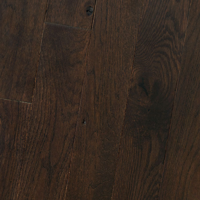 "White Oak Jamocha - Traditional Character White Oak Collection - 5"" Solid Hardwood Flooring by HomerWood - Hardwood by HomerWood"