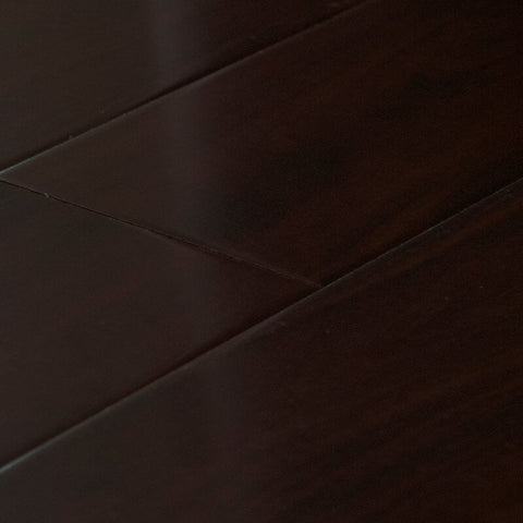 Walnut Burgundy - Silky Collection - 12mm Laminate by Dyno Exchange - The Flooring Factory