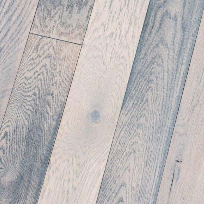 "Mist Weathered Black - Character Weathered White Oak Collection - 4"" Solid Hardwood Flooring by HomerWood - Hardwood by HomerWood"