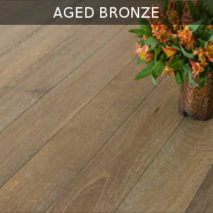"Aged Bronze 5 3/4"" - Genuine French Oak Collection - Engineered Hardwood Flooring by Virginia Hardwood - Hardwood by Virginia Hardwood"