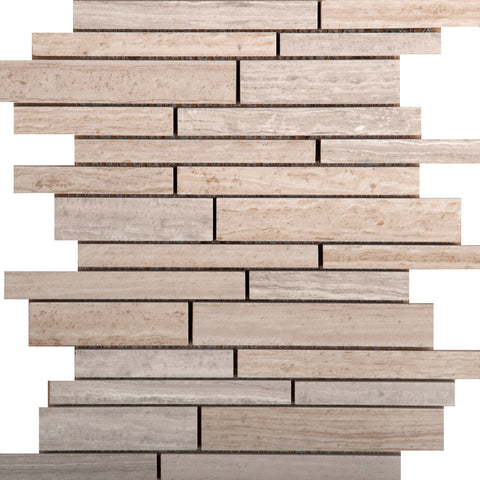"AMBIANCE™ -10""x 12"" Linear Mesh by Emser Tile - Tile by Emser Tile - The Flooring Factory"
