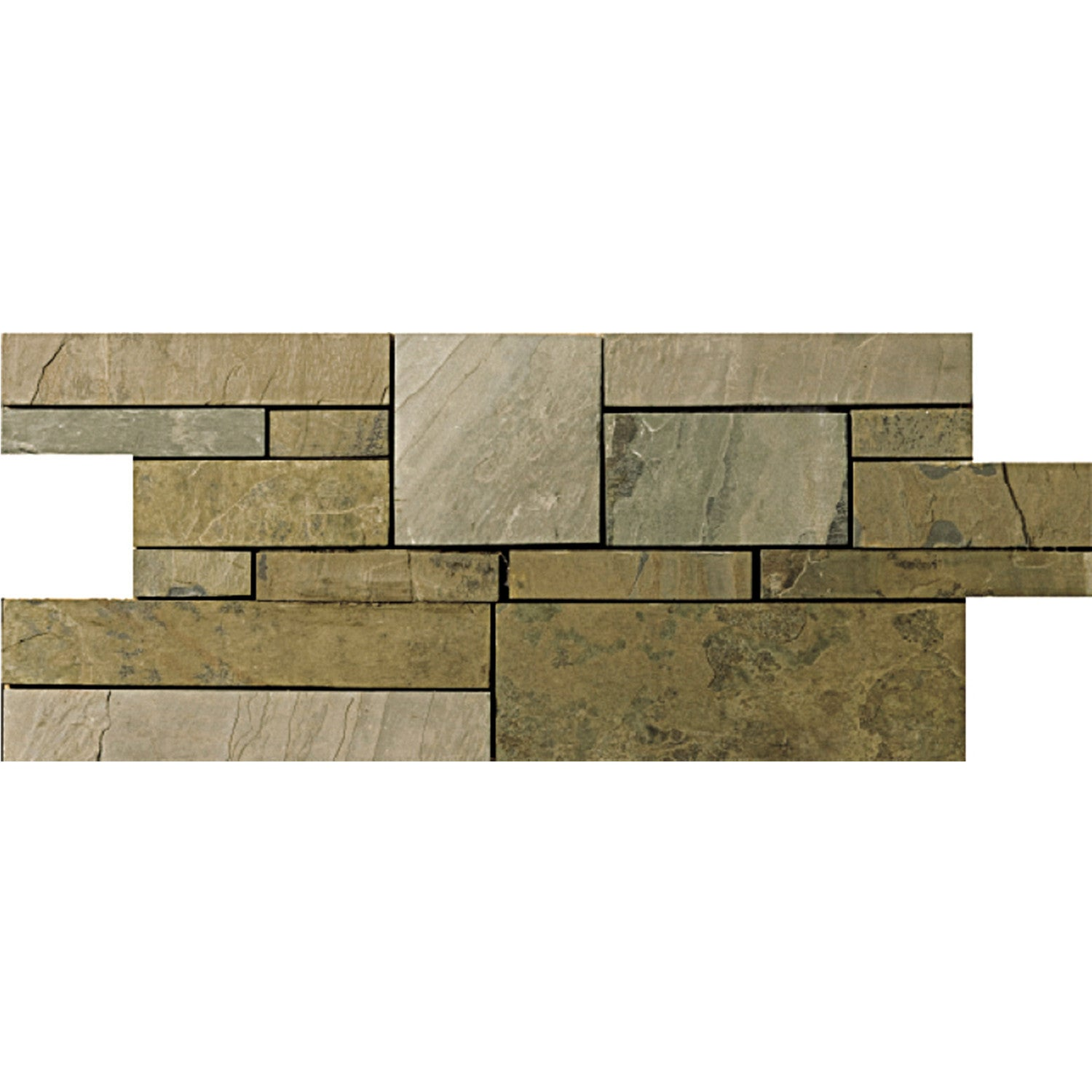 Rustic gold collection slate quartzite tile by emser tile rustic gold collection slate quartzite tile by emser tile dailygadgetfo Choice Image