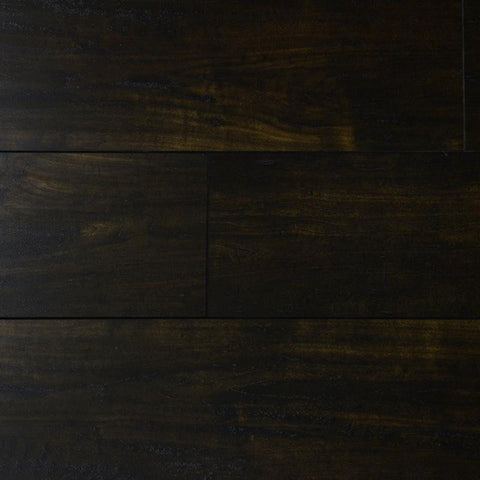 Branding Iron Walnut - Wild West Collection - 8mm Laminate Flooring by Tecsun - The Flooring Factory
