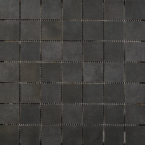 "COSMOPOLITAN - 2"" x 2"" on 13""x 13"" Mesh Mosaic Glazed Porcelain by Emser - The Flooring Factory"