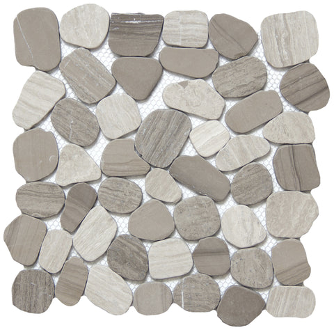 CULTURA™ - Pebbles Mosaic Tile by Emser Tile - Tile by Emser Tile - The Flooring Factory