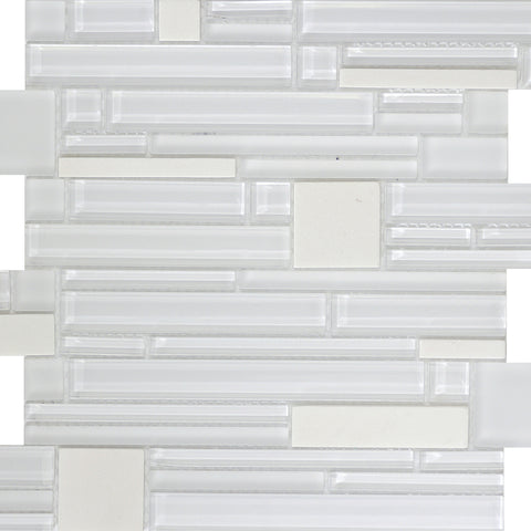 ENTITY™ - Glass & Stone Mosaic Tile by Emser Tile - Tile by Emser Tile