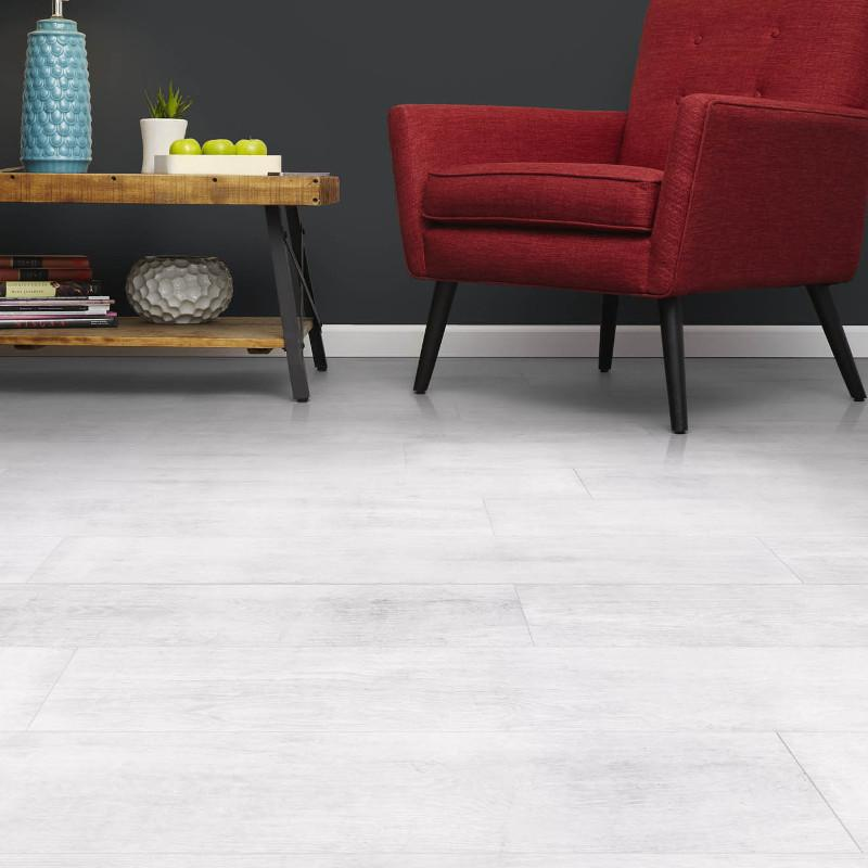 Vanity White - Forest Collection - Waterproof Flooring by Inhaus - Waterproof Flooring by Sono