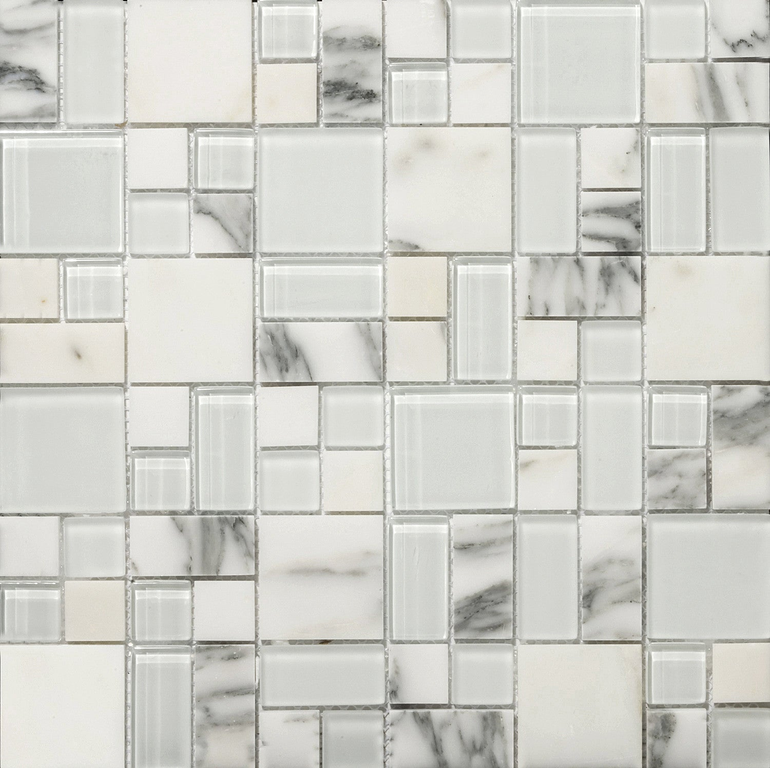 LUCENTE GLASS & STONE PATTERN BLENDS™ - Glass Wall Tile & Mosaic ...