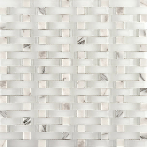 LUCENTE GLASS & STONE WAVE BLENDS™ - Glass Wall Tile & Mosaic Tile by Emser Tile - Tile by Emser Tile