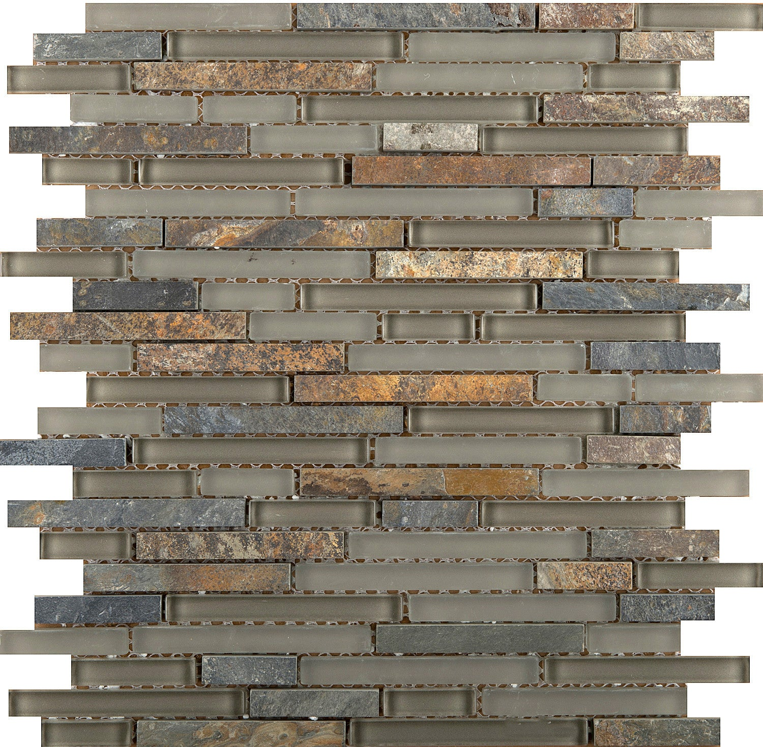 LUCENTE GLASS & STONE LINEAR BLENDS™ - Glass Wall Tile & Mosaic Tile ...