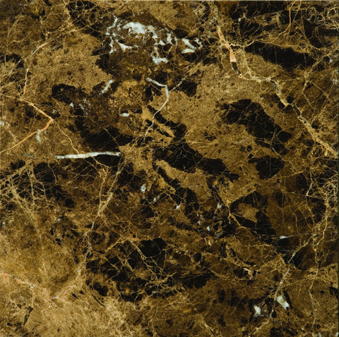 MARRONE EMPERADOR DARK COLLECTION™ - Marble Polished/Honed Tile by Emser Tile - Tile by Emser Tile