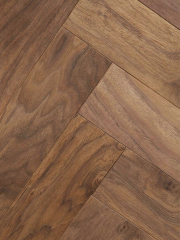 Morocco Walnut Left - Casablanca Collection - Engineered Hardwood Flooring by Alston - Hardwood by Alston