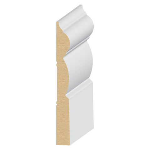 Hermosa Base 7 1/4'' Molding 323MUL - Baseboard by EL and EL Wood Products