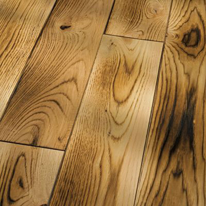 "Hickory Smoked Natural - Hickory Smooth & Smoked Collection - 4"" Engineered Hardwood Flooring by HomerWood - Hardwood by HomerWood"