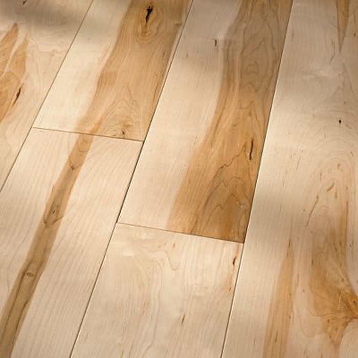 "Hard Maple Natural - Traditional Character Smooth Collection - 4"" Solid Hardwood Flooring by HomerWood - Hardwood by HomerWood"