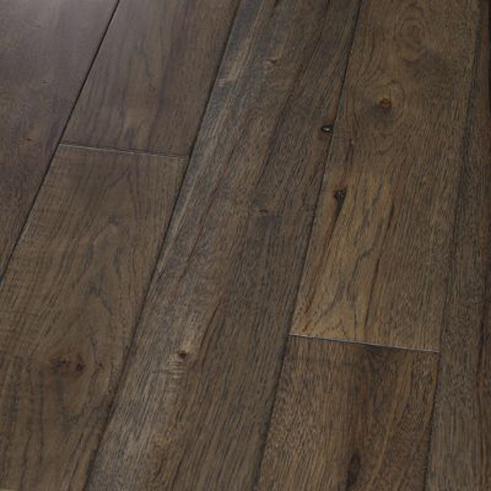 "Hickory Graphite - Traditional Character Premium Hickory Collection - 6"" Engineered Hardwood Flooring by HomerWood - Hardwood by HomerWood"
