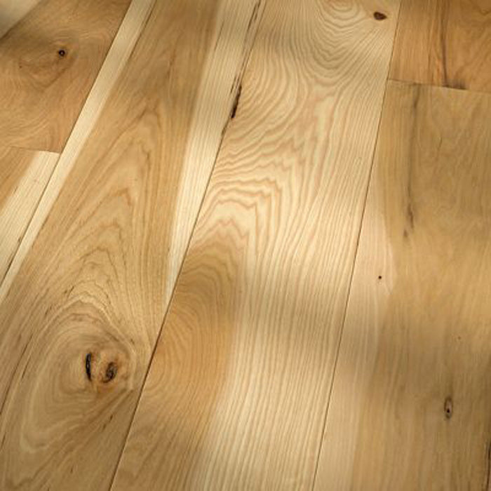 "Hickory Natural - Traditional Character Premium Hickory Collection - 5"" Engineered Hardwood Flooring by HomerWood - Hardwood by HomerWood"