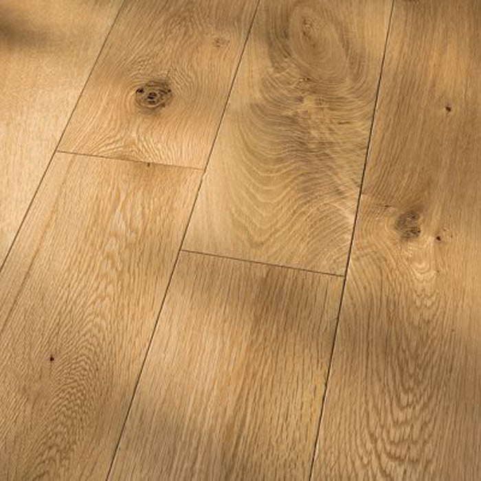 "White Oak Natural - Traditional Character White Oak Collection - 4"" Solid Hardwood Flooring by HomerWood - Hardwood by HomerWood"