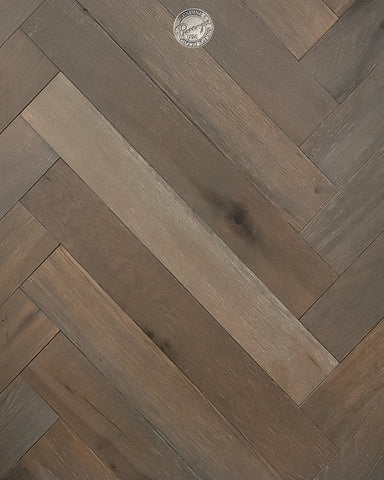 "Stone Grey - 5/8"" - Engineered Hardwood Flooring by Provenza"