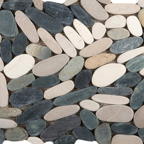 VENETIAN PEBBLES™ - Pebbles Style Mosaic Tile by Emser Tile, Tile, Emser Tile - The Flooring Factory
