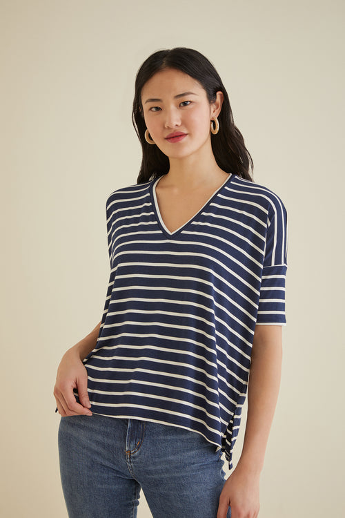 XS / Basque Stripe