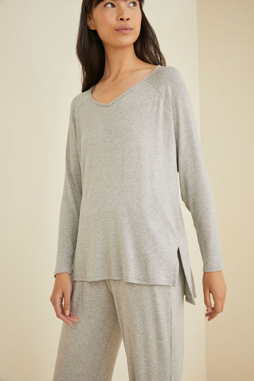 XS / Heather Grey