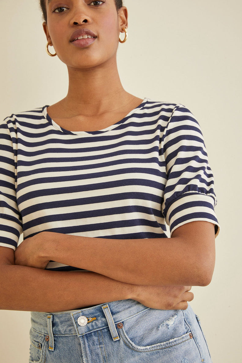 Amour Vert Sitewide Sale Striped Tee