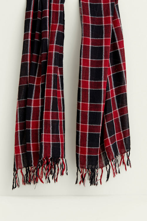 One Size / Red Plaid