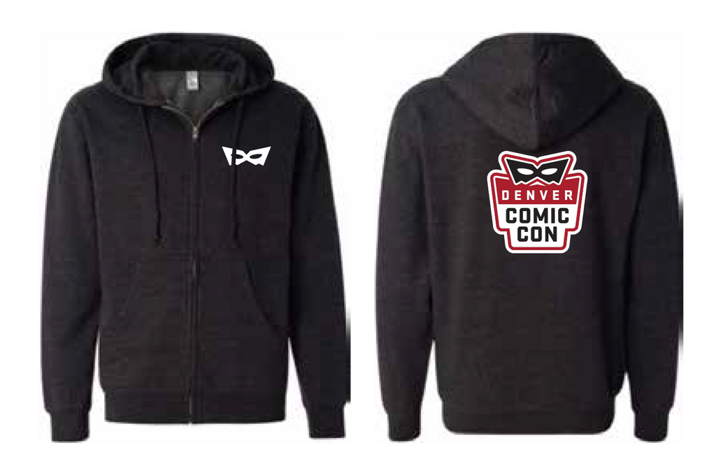 Denver Comic Con Logo Zip Up Hoodie