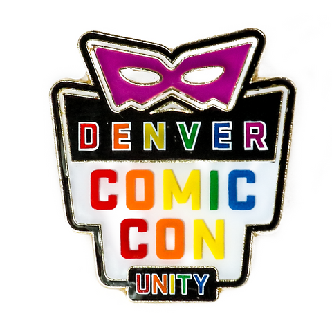 Denver Comic Con Logo Pin