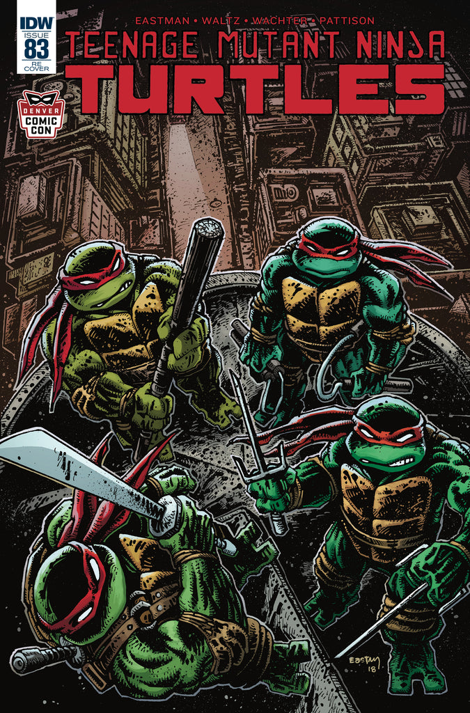 Kevin Eastman Teenage Mutant Ninja Turtles #83 DCC Variant