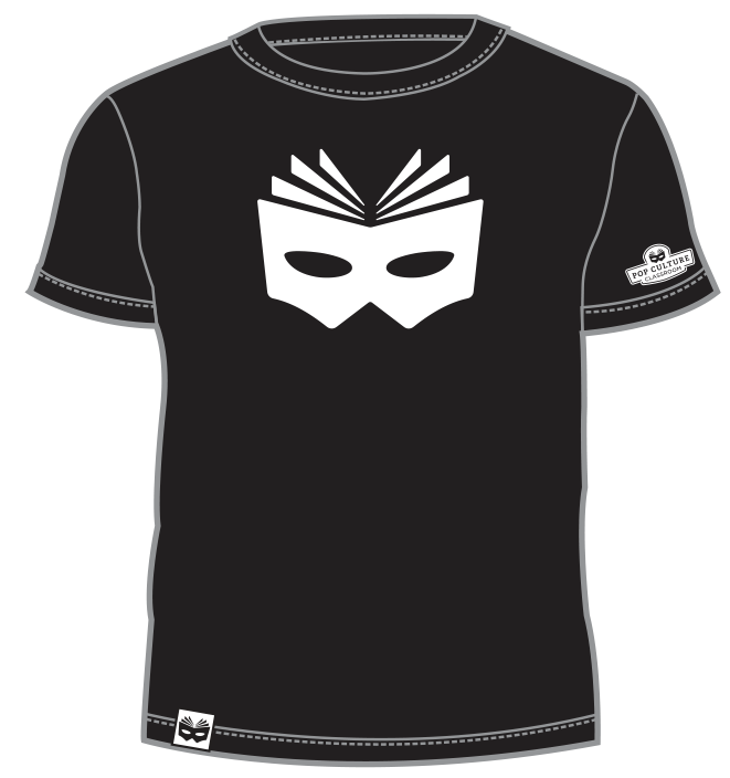 PCC Book Mask T-Shirt