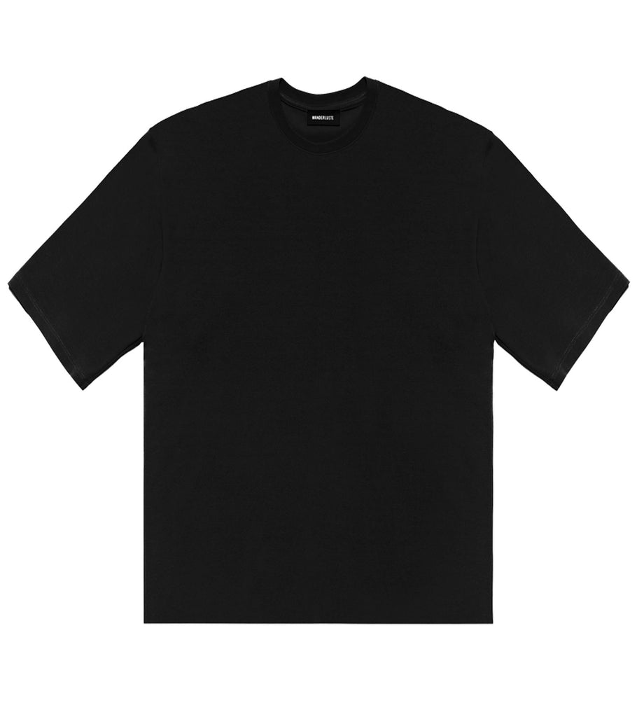 Raw Edge Wanderer Tee - Black