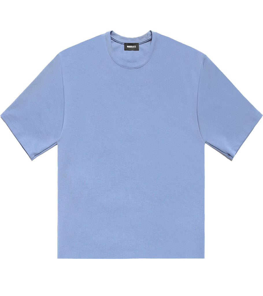 Raw Edge Wanderer Tee - Denim Blue