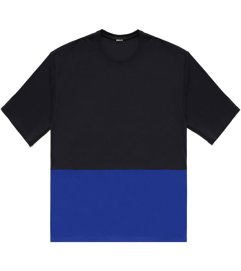 Color Block Wanderer Tee - Blue/Royal